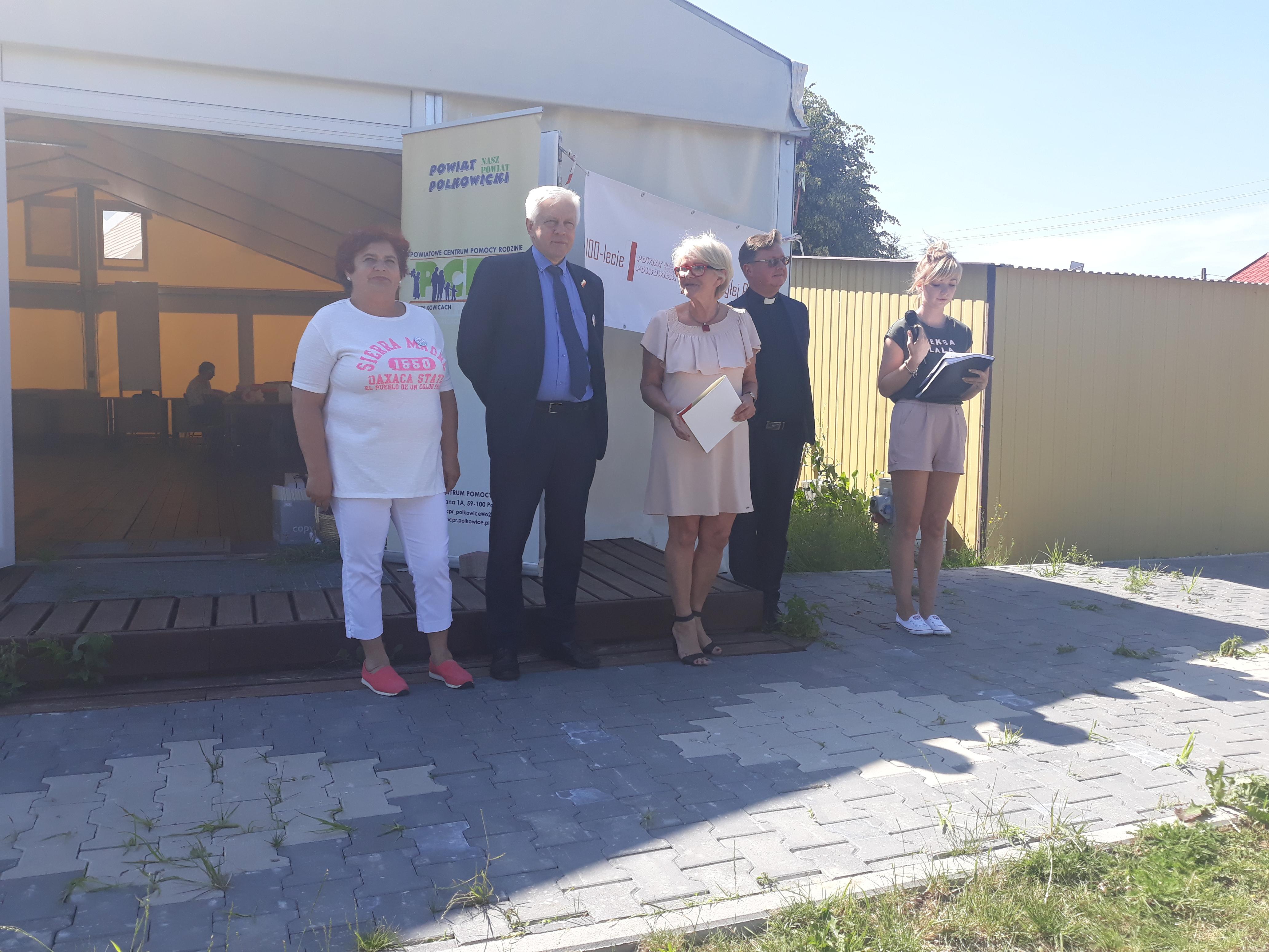 przedstawiciele PCPR i Powiatu