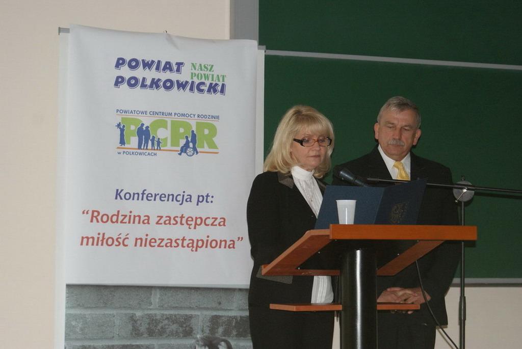 prelekcja Dyrektora PCPR w Polkowicach