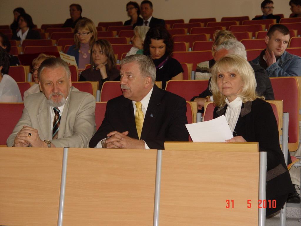 przedstawiciele powiatu polkowickiego