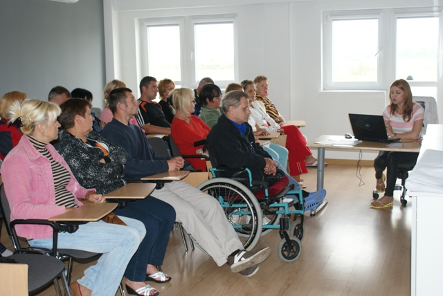 prelekcja dotycząca uprawnień osób niepełnosprawnych